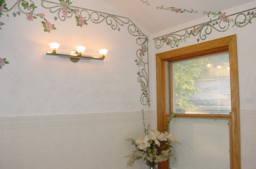 Stenciling amazing wall decor ideas