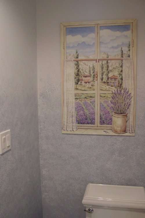 Stippling wall art ideas