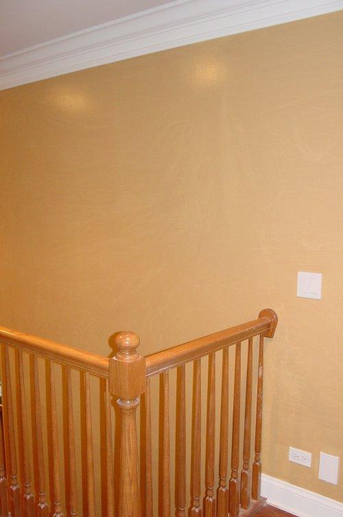 Smooshing wall decor painting