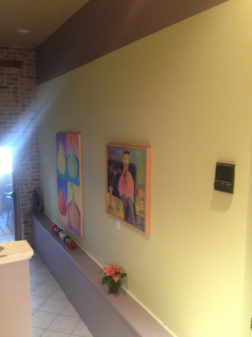 Striping wall decor ideas