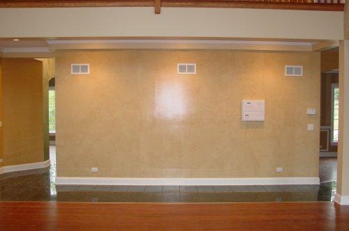 Tissue Paper interior wall design