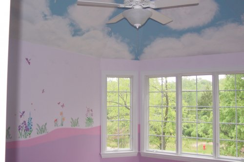 Children's Rooms wall design