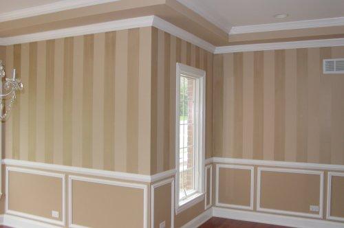 Striping amazing  interior wall design