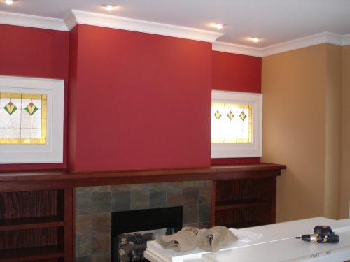 Dramatic Solid Colors fantastic wall design
