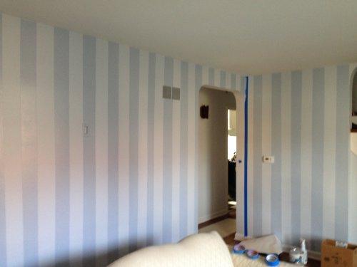 Striping interior painting
