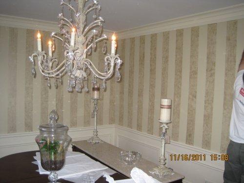 Tissue Paper wall decor ideas