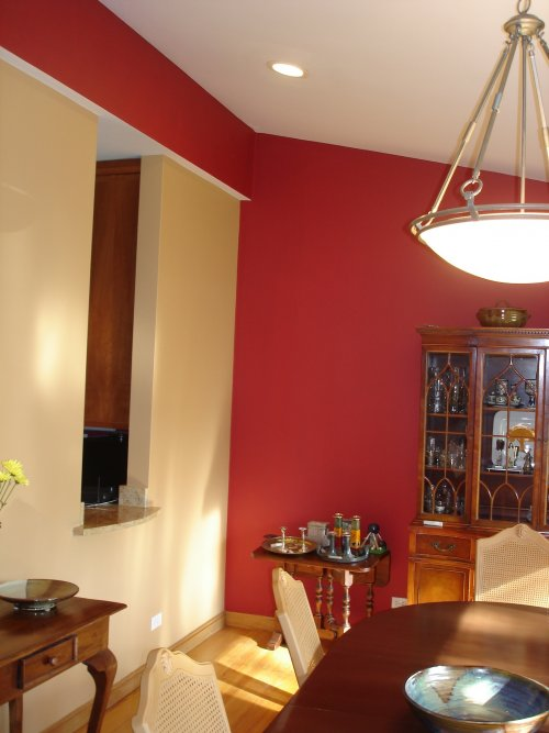 Dramatic Solid Colors beautiful interior painting