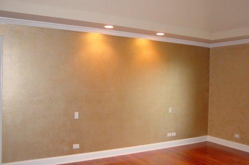 Double Roll Technique interior wall design